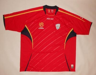 NEW HOME SHIRT REEBOK ADELAIDE UNITED FC 2005-07 (XXL) Australia Jersey Trikot  image