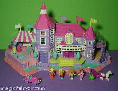 Polly Pocket Mini ♥ Magical Mansion ♥ Traum Villa ♥ 1994 ♥ 100% complete ♥ Licht