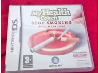 DS My Health Coach STOP SMOKING Game £5