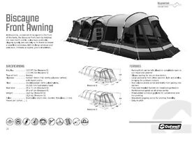 Outwell Biscayne 5 Front Awning/Extension