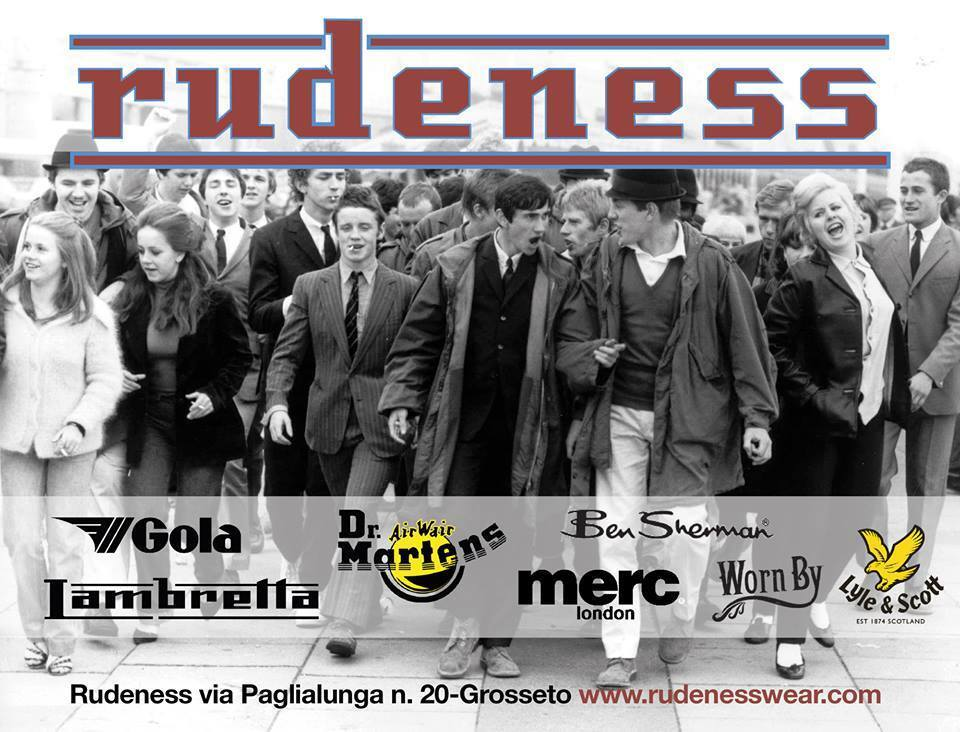RUDENESS STREETWEAR e RECORD SHOP