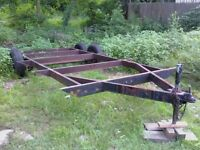 Flat Bed or Utility Trailer Frame