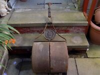 Antique Lawn Roller by Lewis of Birmingham