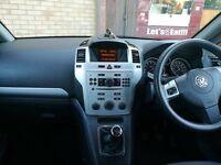 Vauxhall Zafira 2009 1.6l manual, Almost full MOT.