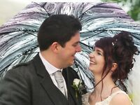 Two wedding photographers from £325