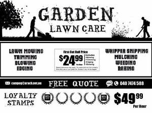 Garden Lawn Care - 50% off  for New Clients Until Xmas Dianella Stirling Area Preview