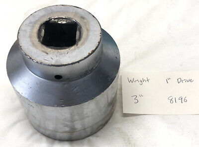 Wright 1 Drive 3 Impact Socket 8196 Made In Usa Free Shipping