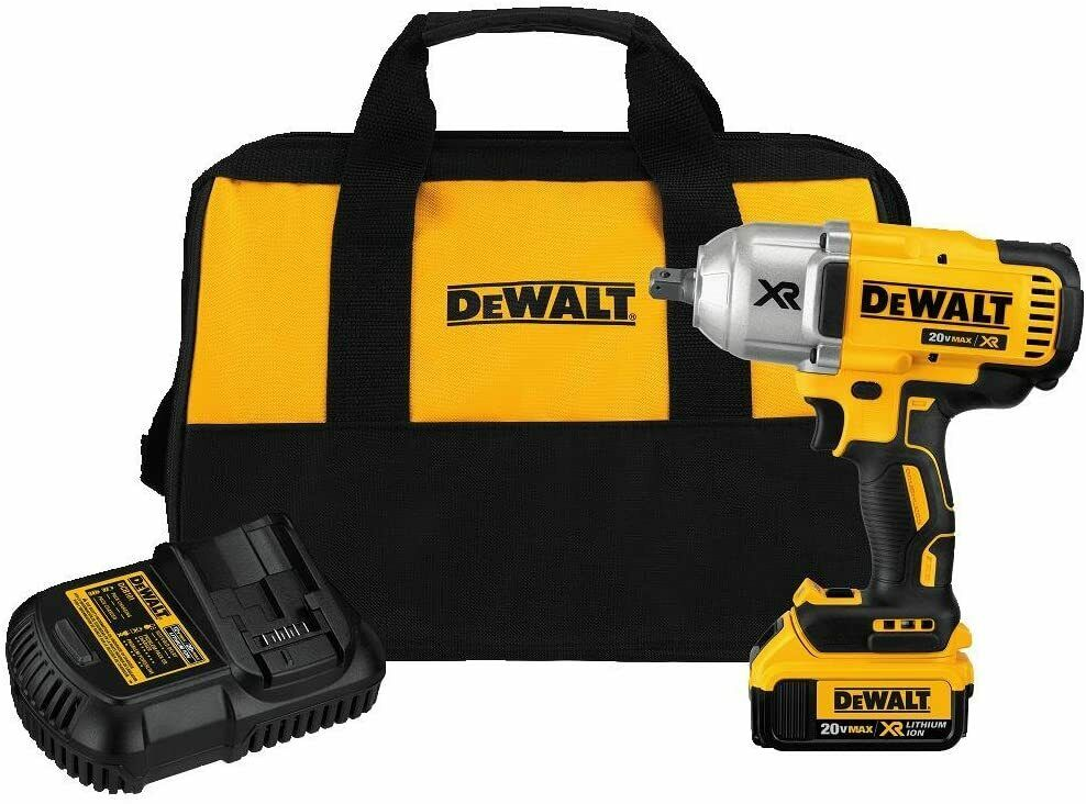 DEWALT DCF899M1 1/2 inch 20V High Torque Impact Wrench with