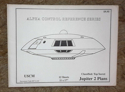 Lost in Space Blueprint Set of 12 Sheets-Jupiter 2/Vehicles/Equipment (M5937)