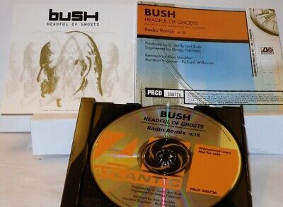 Bush - Headful of Ghosts -  Promo Only CD Single (PRCD 300726)
