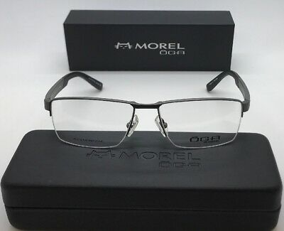 03d8bbe5a3 OGA 7955O GR032 MOREL FRANCE FRAMES GLASSES EYEGLASSES 55-16-140 NEW!!!