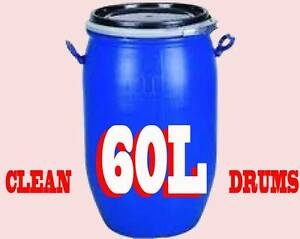 Drum 60 litre - Blue Plastic with Lid Warwick Southern Downs Preview