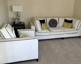 3 seater sofa and chair - TOP QUALITY