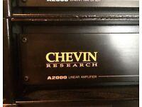 Chevin A2000 Power Amplifier