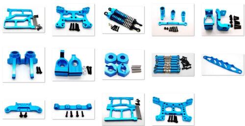 Metal Steering Hub Carrier/Shock Damper/Arm parts for HQ 1/16 731/732/733/734 Bl