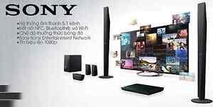 Sony HD 3D WiFi Blu-ray 5.1 Wireless Home Cinema System SICK Speakers Subwoofer