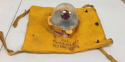 Vintage Ocean Rescue Light Beacon Emergency Light Decor Propuntested A5g
