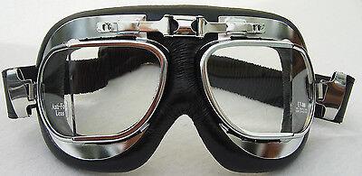 Gebraucht, Brille, Oldtimerbrille, Cabriobrille, chrom, Antibeschlagglas, edles Design gebraucht kaufen  Lilienthal