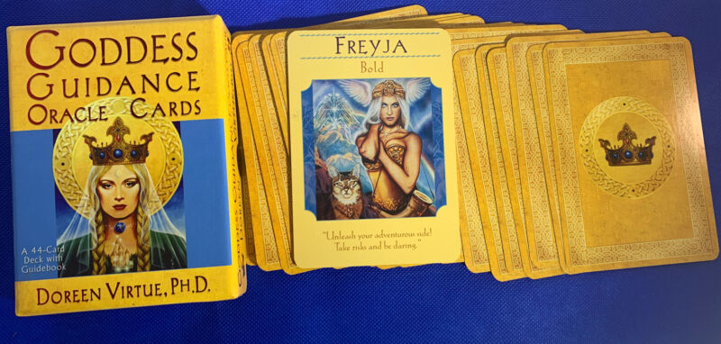 Freyja - Single Card Replacement - Authentic Goddess Guidance Doreen Virtue