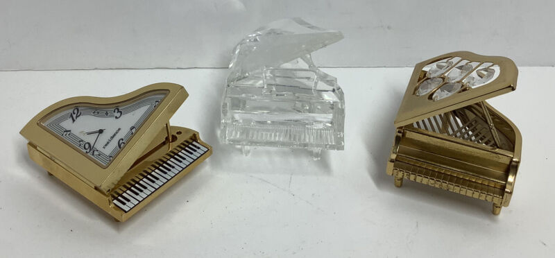 Lot of 3 Miniature Pianos