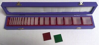 Prism Set 18 Pcs 1 Red 1 Green Optometry Ophthalmology