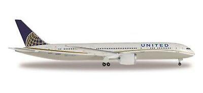 United Airlines Model - Herpa Wings 528238-001 United Airlines Boeing 787-9 Dreamliner 1/500 Scale Model