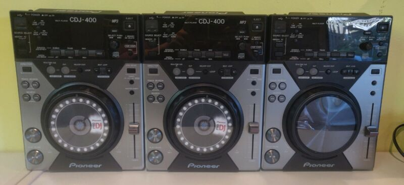 Pioneer CDJ-400 Pro CD Player with USB and Effects