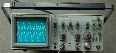 Tektronix 2235 100mhz Two Channel Oscilloscope Calibrated 2 Probes Sn B027567