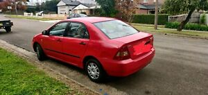 Toyota Corolla 9 months REGO- 4500$ only 1,65,000 km Odometer.