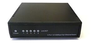 10-100Mbps-5-Way-Port-SOHO-Data-Switch-RJ45-Network-Ethernet-LAN-Extender-Rack