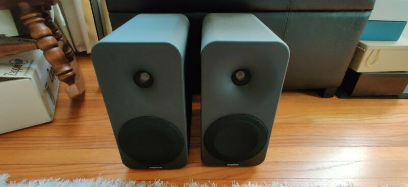 Amphion Ion L Speakers pair black