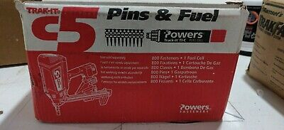 C5 Trak-it Concrete Or Block Pins. 1 12 X .102 Powers Fasteners Pn 55316