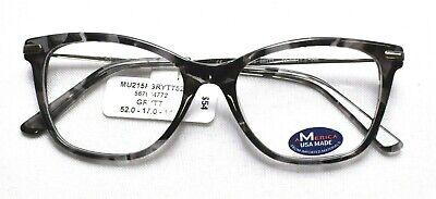 M AMERICA MU215 Grytt Eyeglass/Glasses Frames 52-17-145 (America Eye Glasses)