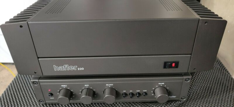Hafler Model 100 preamp and DH-220 Amplifier in near mint condition work perfect