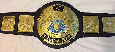 WWF WWE BIG EAGLE REPLICA ATTITUDE ERA CHAMPIONSHIP FULL SIZE BELT WITH FREE BOX