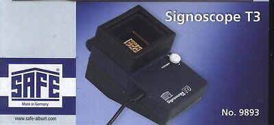 SAFE Signoscope T 3 optisch-elektrischer Wasserzeichenfinder sofort lieferbar!!!
