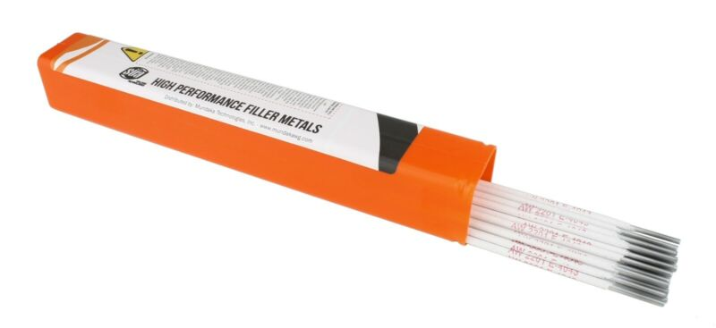 "SÜA - Aluminum E4043 Stick Electrode Rod 3/32"" x 14"" - (0.5 Lb = 26 Rods)"