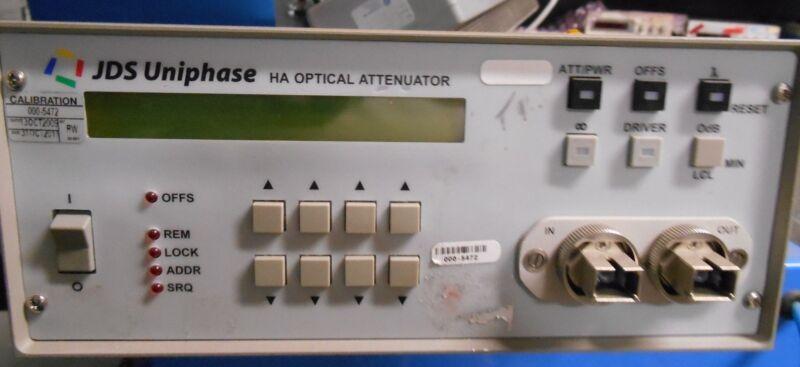 Jds Uniphase Ha027+20asu1 Optical Attenuator Jdsu Ha
