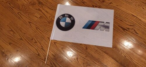 BMW //M Motorsport Flag Roundel Race Fan Promotional