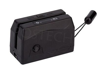 Mini300 Portable Magnetic Magstripe Swipe Credit Card Reader Collector Usb
