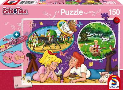 150 Teile Schmidt Spiele Kinder Puzzle Bibi & Tina Freundinnen Slap Snap 56321