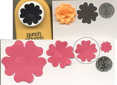 (Medium Blossom Shape Paper Punch by Punch Bunch Quilling-Scrapbooking-Cardcraft)