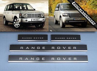 Range Rover Vogue 2002 - 2013 Sill Protectors / Kick Plates
