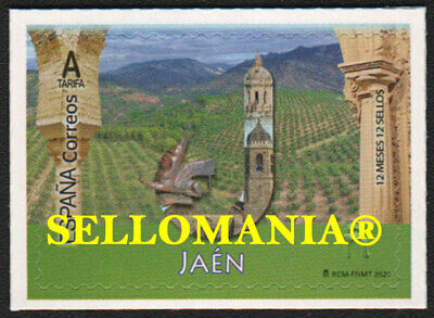 2020 JAEN 12 MESES 12 SELLOS OLIVE GRAVES OLIVOS ACEITE ** MNH...