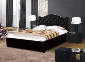 Brand New Double/Queen size PU Leather Storage Bed (EH1094) Clayton South Kingston Area Preview