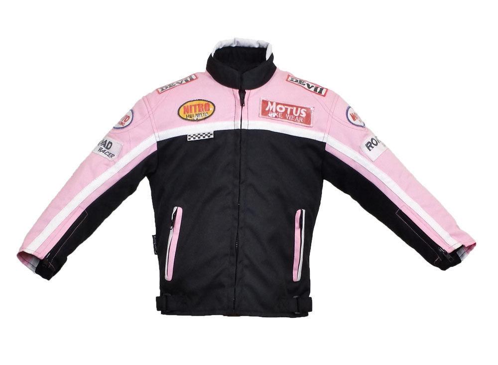 kids textile motorbike brandnew waterproof jacket 6 to 8 yr old