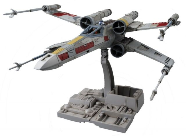 Bandai Star Wars X Wing Starfighter 1/72 Plastic Model Kit F/S