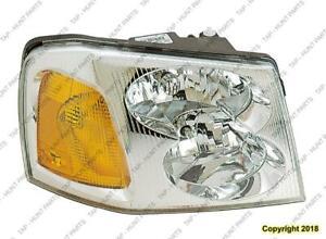 Head Light Passenger Side High Quality GMC Envoy 2002-2009