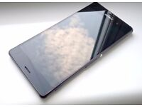 Sony Xperia Z3 black works with EE and virgin orange network very good condition fully working