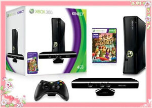 NEW-SEALED-Xbox-360-Console-4GB-4-GB-w-KINECT-BUNDLE